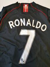 Red DEVILS RARE Cristiano Ronaldo Manchester United  Men's XxxL  12129A