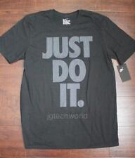 New Men Nike Just Do it Tee T-shirt Crew Neck Top Short Sleeve Graphic z Large L