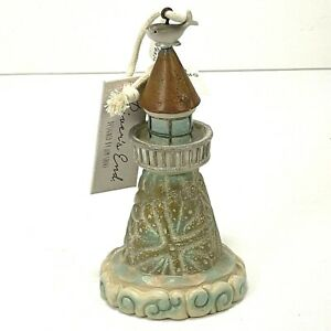 Jim Shore River's End Lighthouse Ornament Decoration 4058865 Retired