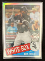 2020 TOPPS CHROME LUIS ROBERT RC 35th Anniversary WHITE SOX #85TC-17 Refractor