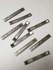"""Mauser C96 10 Round """"Steel"""" Stripper Clip """"Unmarked"""" Set Of 5 Pieces"""