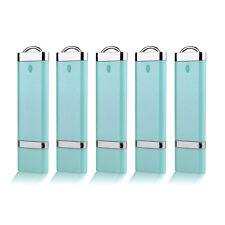5 Pack USB 3.0 16GB Flash Drive Rectangle Memory Stick Thumb Store Pen Drive