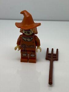 Lego Super Heroes Scarecrow, Dark Orange Floppy Hat Minifigure