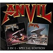 Anvil - Plugged In Permanent & Absolutely No Alternative Double CD (Heavy Metal)