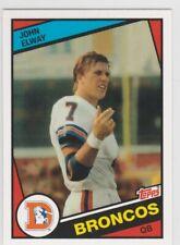 JOHN ELWAY Topps RP ROOKIE CARD Denver Broncos Football RC NFL #7 HOFer!