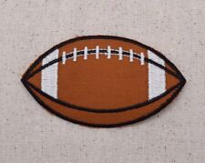 Large Football Sports Ball/Pigskin Iron on Applique/Embroidered Patch