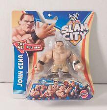 "WWE Slam City JOHN CENA 2.5"" Wrestling Action Figure Pull & Release Arm NEW NIP"