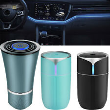 LED Car Air Purifier Air Humidifier USB Cool Mist Diffuser Aroma Smoke Remover