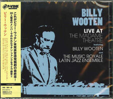 BILLY WOOTEN-LIVE AT THE MADAME THEATRE FEAT. BILLY WOOTEN AND THE -JAPAN CD F04