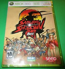 Samurai Showdown Sen - Xbox 360 - Factory Sealed!! -  Free Shipping!!