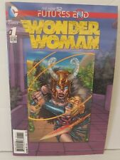 WONDER WOMAN #1 NEW 52 FUTURES END ONE SHOT (LENTICULAR 3D COVER) VF
