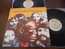 JOHN LEE HOOKER &  CANNED HEAT Boogie with Hooker n` Heat 2 LP FRANCE 1981 NM