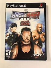 WWE Smackdown vs Raw 2008 - Playstation 2 - Replacement Case - No Game