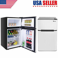 ZOKOP US BCD-90 AC115V/60Hz 90L/3.2CU.FT Household Refrigerator Double Doors NEW