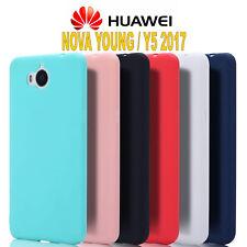 Cover HUAWEI NOVA YOUNG / Y5 (2017)  L' ORIGINALE Silicone CUSTODIA  PREMIUM