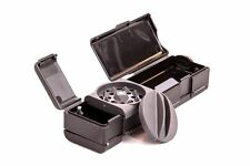 Combie Grind & Roll Tobacco Herb Grinder, Rolling Paper, Tips Storage All in One