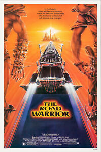 The Road Warrior (1981) Movie Poster, Original, SS, Unused, NM, Rolled