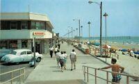 Boardwalk Looking North Myrtle Beach South Carolina Plymer Postcard 13129