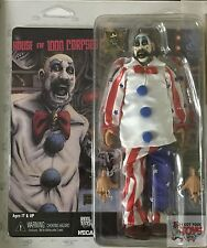 "CAPTAIN SPAULDING Neca HOUSE of 1000 CORPSES Rob Zombie 8"" Inch 2016 FIGURE"