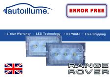 Land Rover Range Rover Sport Discovery 3 4 LED Licence Number Plate Lights Units