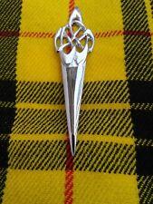 New Scottish Swirl Sword Kilt Pin Chrome Finish/Brooch Kilt Pin/Kilt Pins