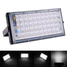 50 Led Aluminum Flood Light Waterproof Outdoor Garden Landscape Lamp 220V 50W Us