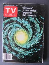 Sept 27-Oct 3 1980 TV Guide New Series 'Cosmos' Catherine Hicks Marilyn Monroe