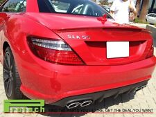 AMG Look Painted 590 Mars RED Trunk Wing Spoiler Fit SLK200 SLK250 SLK350