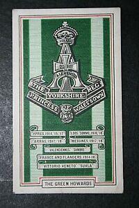 The Green Howards   World War 1 Battle Honours Card # CAT A