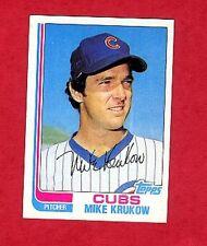 1982 Topps Mike Krukow # 215
