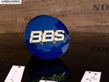 ORIGINALE Emblema BBS 56mm Nero Argento Cerchi Coperchio 09.24.257 COPERCHIO MOZZO SR SX