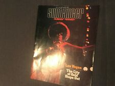 Hughes Airwest Sundancer Las Vegas City Of Gold Entertainment Magazine 1973
