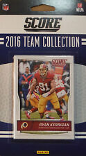 Washington Redskins 2016 Score EXCLUSIVE Factory Team Set Kirk Cousins 5 Rookies