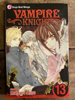 Vampire Knight Manga English Volume 13 Matsuri Hino Shojo Beat Manga Viz Book