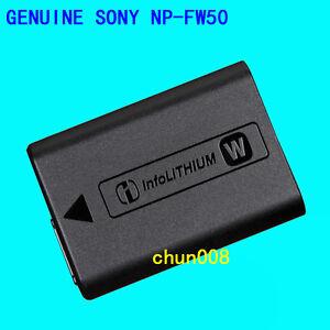 Genuine Sony NP-FW50 Battery For DSC-RX10 NEX-7 NEX-5 A6600 A5100 A7S A7R A55 A7