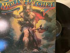 Molly Hatchet – Flirtin' With Disaster LP 1979 Epic JE 36110 Southern Rock VG+