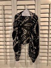 Winter Kate Printed Natural Vintage Silk Kimono Sz S