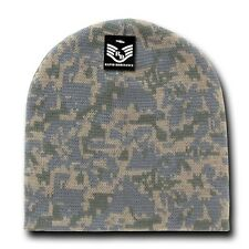 Digital Universal Knit Skull Hunting Camo Camouflage Ski Winter Beanie Hat Cap