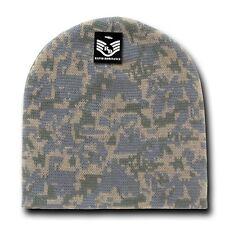 Digital Universal Knit Skull Hunting Camo Camouflage Ski Winter Beanie Hat Cap