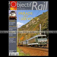 OBJECTIF RAIL N°19 MAURIENNE, CC 65000, 060-DB, GISORS-SERQUEUX, DORAT, 141-TD