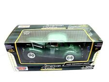 MotorMax 1939 CHEVY COUPE GREEN 1/24 DIECAST CAR 73247AC