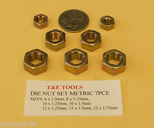 DIE NUT RETHREADER SET METRIC 7Pce from T&E TOOLS DALLAS