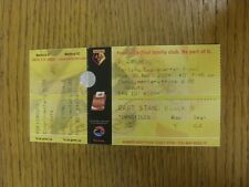 30/11/2004 BIGLIETTO: Watford v Portsmouth Football League Cup [] (SCOUTS complimento