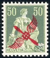 SCHWEIZ 1919, MiNr. 145, Flugpost, tadellos postfrisch, Mi. 120,-