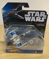 Star Wars Hot Wheels Resistance X-Wing Figter Starship Bnib