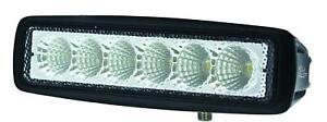 Hella 357203001 Hella Value Fit Mini Light Bar 6 LED Flood beam