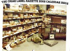 CALENDAR 2002* CIGAR LABELS FROM THE 1900S* 11 BY 81/2 INCH  RARE