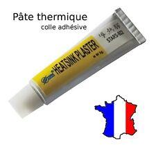 Pâte thermique adhesive colle silicone électronique, chipset, transistors, puce