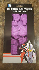 DC Comics The Joker and Harley Quinn Ice Cube Tray Brand New WB