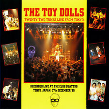 THE TOY DOLLS - Twenty Two Tunes Live From Tokyo (2-LP- YELLOW VINYL) DLP